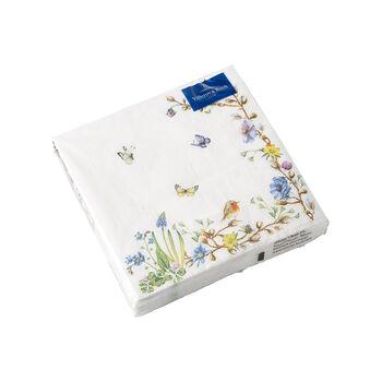 Easter Accessories serviettes de table, arabesque de fleurs, 25x25cm, 20pièces
