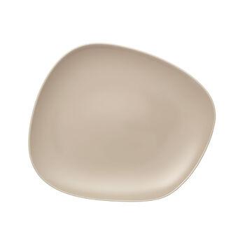 Organic Sand assiette plate 28x24x3cm
