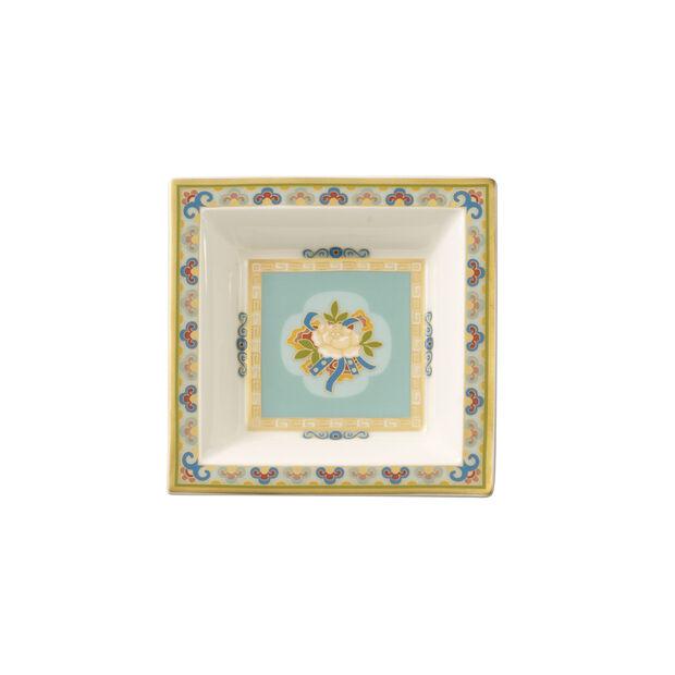 Samarkand Aquamarin coupelle carrée 10x10cm, , large