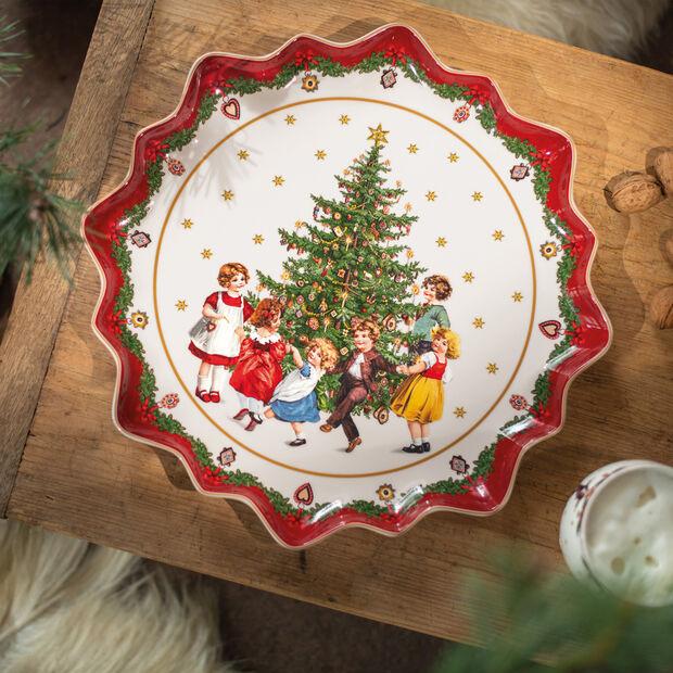 Toy's Fantasy Assiette pâtiss. creuse, 39x39x3,5cm, , large