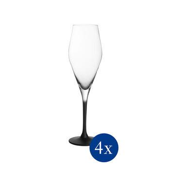 Manufacture Rock flûte à champagne, 4pièces, 260ml