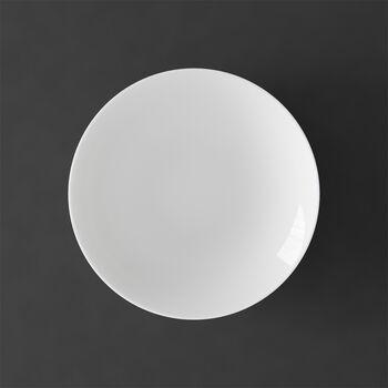 MetroChic blanc assiette creuse, diamètre 20cm, profondeur 5cm, blanche