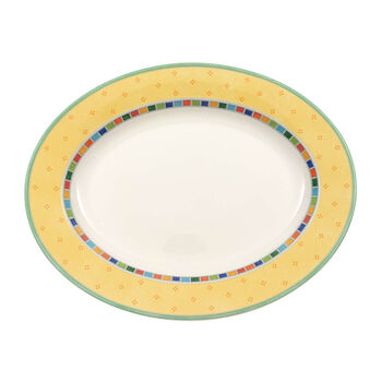 Twist Alea Limone plat ovale 34cm