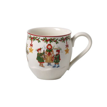Toy's Fantasy grand mug à café motif enfants, rouge/multicolore, 530ml