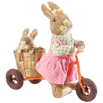 Spring Fantasy Accessories Enfants lapins tricycle 41x19x39cm