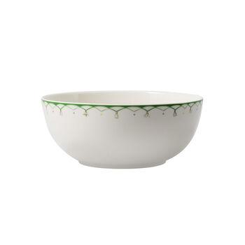 Colourful Spring petit saladier, 2,5l, blanc/vert