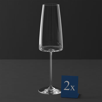MetroChic flûte à champagne, 2pièces, 450ml
