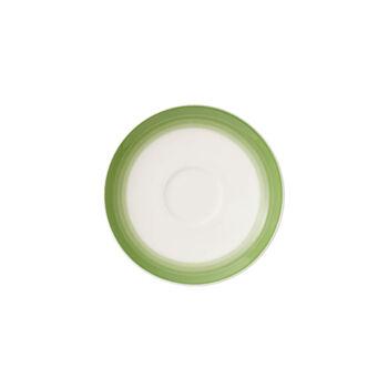 Colourful Life Green Apple sous-tasse à expresso/moka