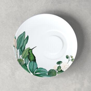 Avarua sous-tasse à thé, 18,5cm, blanche/multicolore