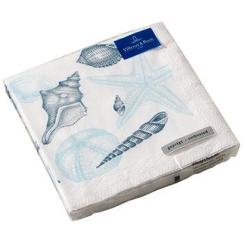 Serviettes en papier Montauk Beachside, 20pièces, 33x33cm