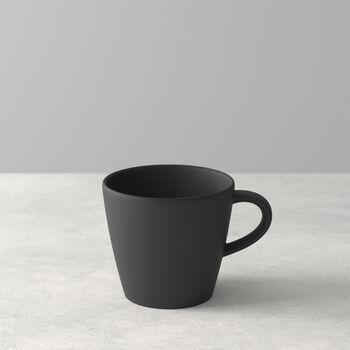 Manufacture Rock tasse à café, noire/grise, 10,5x8x7,5cm