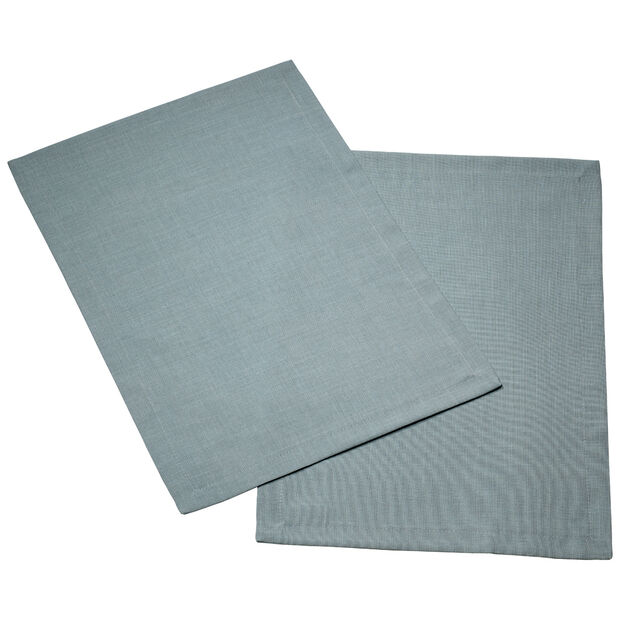 Textil Uni TREND Set de table blue fox S2 35x50cm, , large