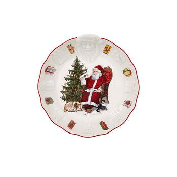Toy's Fantasy Coupe avec Père Noël relief, 24x25x4,6cm
