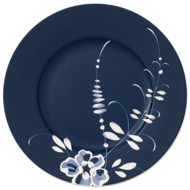 Vieux Luxembourg Brindille assiette à dessert bleue, , large
