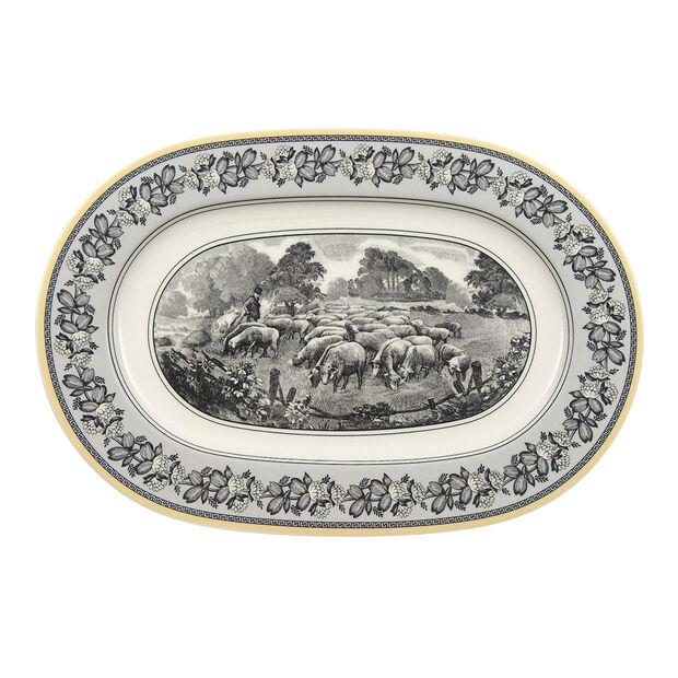 Audun Ferme Plat ovale  34cm, , large