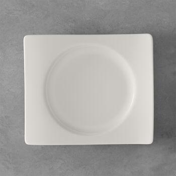 NewWave assiette à dessert rectangulaire 24x22cm