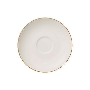 Anmut Gold sous-tasse à café, blanc/or