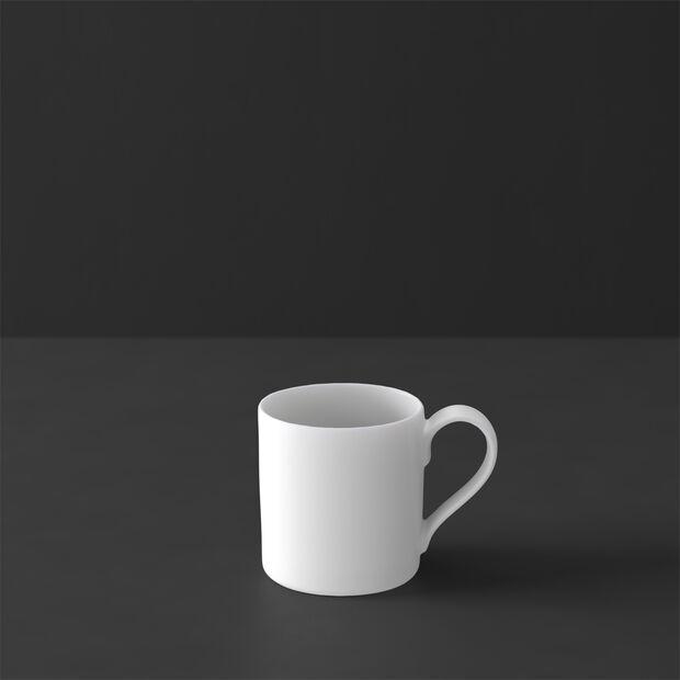 MetroChic blanc tasse à moka et expresso, 80ml, blanche, , large