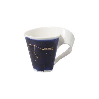 NewWave Stars mug verseau, 300ml, bleu/blanc