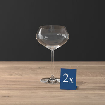 Purismo Bar ensemble de 2coupes à champagne