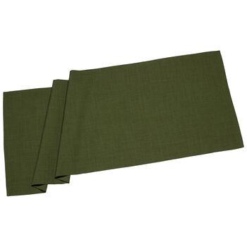 Textil Uni TREND Chemin d/table verde fon. 50x140cm