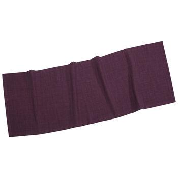 Textil Uni TREND Chemin de table violet 50x140cm
