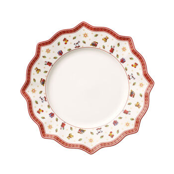 Toy's Delight assiette plate blanche