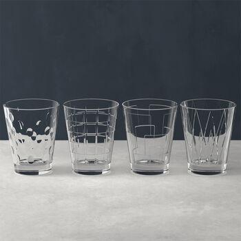Dressed Up ensemble de verres à eau Clear, 4pièces