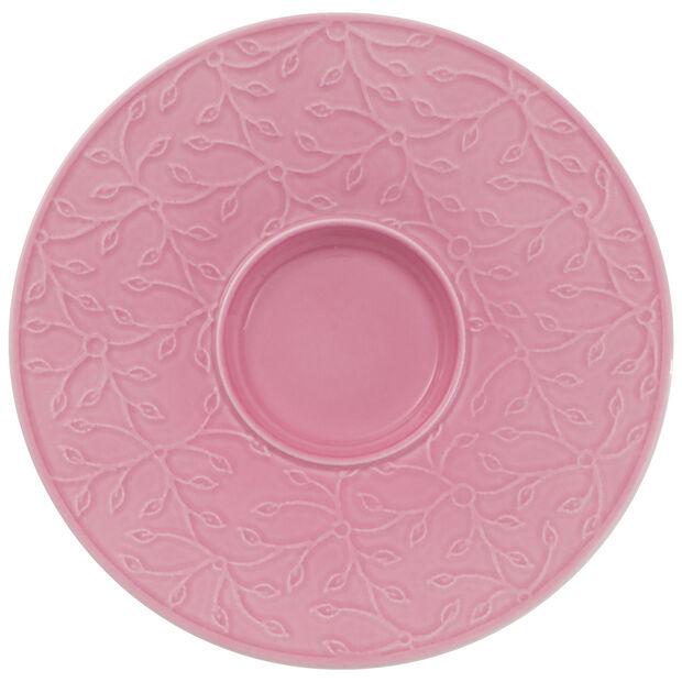 Caffè Club Floral Touch of Rose sous-tasse à café au lait, , large