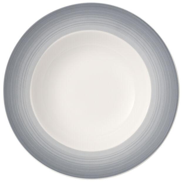 Colourful Life Cosy Grey Assiette creuse 25cm, , large