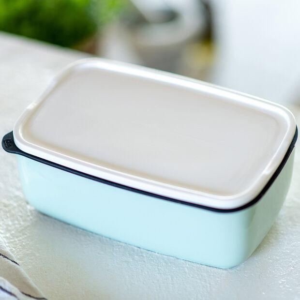 ToGo&ToStay boîte à repas, 20x13x7,5cm, carrée, vert menthe, , large