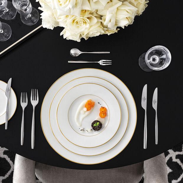 Anmut Gold assiette creuse, diamètre 24cm, blanc/or, , large