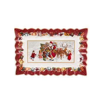 Toy's Fantasy Plat gâteau carré, 35x23x3,5cm