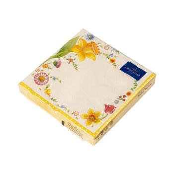 Easter Accessoires Serviette table Spring Fant. paquerette 33x33cm