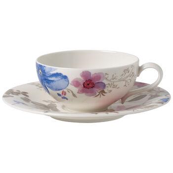 Mariefleur Gris Basic ensemble à thé 2pièces