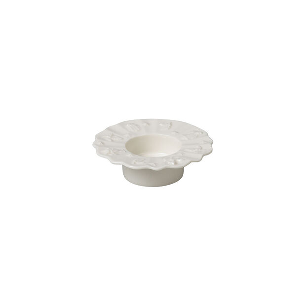 Toy's Delight Royal Classic support pour bougie chauffe-plat, blanc, 9,5cm, , large