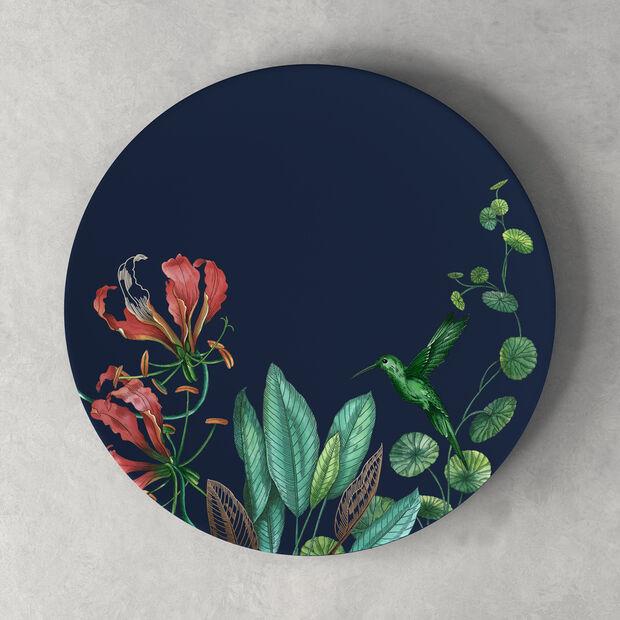 Avarua assiette plate, 27cm, blue/multicolore, , large