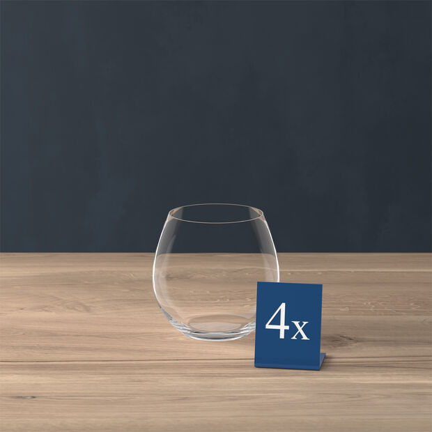 Entrée verre à eau, 570ml, 4pièces, , large