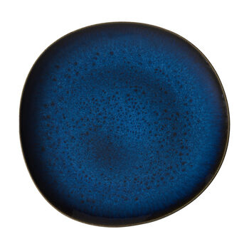 Lave Bleu assiette plate