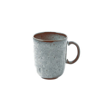 Lave Glacé mug à anse, turquoise, 12,5x9x10,5cm, 400ml