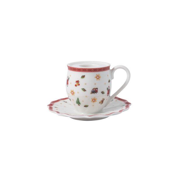 Toy's Delight Decoration bougeoir en forme de mug à anse, 10x6cm, , large