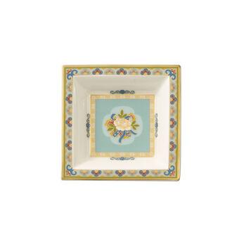 Samarkand Aquamarin coupelle carrée 10x10cm