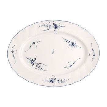 Vieux Luxembourg plat ovale 43cm