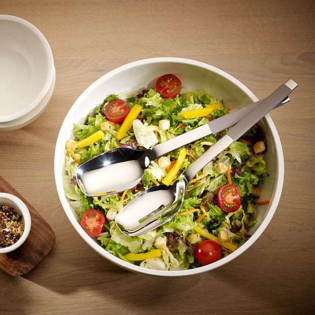 S+ Taupe couverts à salade 2pièces, , large