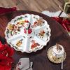 Toy's Fantasy plat à compartiments rétro, multicolore/rouge/blanc, 38x38x19cm, , large