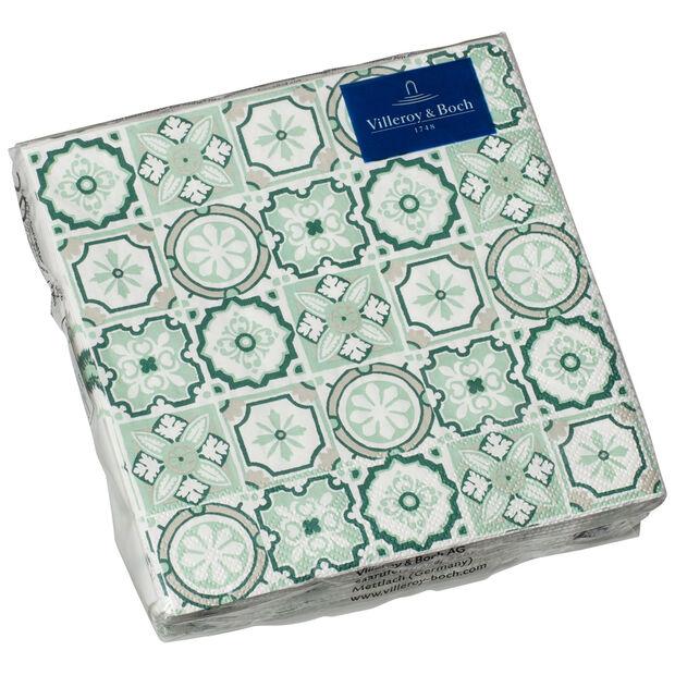 Serviettes en papier Jade Caro, 20pièces, 25x25cm, , large