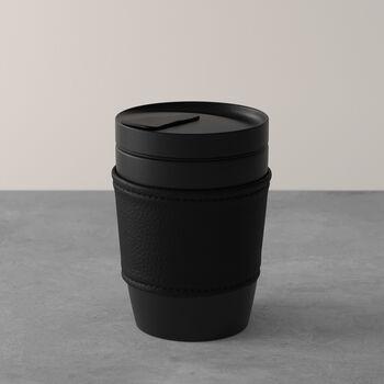Manufacture Rock mug Coffee To Go, 290ml, noir mat