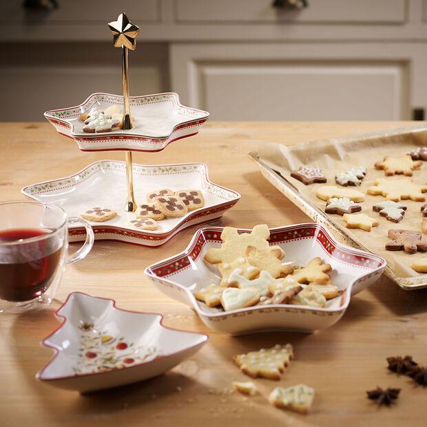 Winter Bakery Delight présentoir motif houx, , large