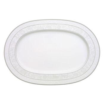 Gray Pearl plat ovale 41cm