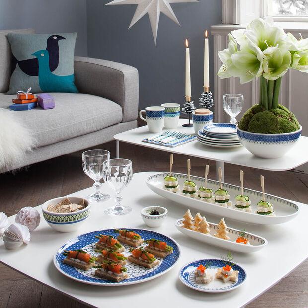 Casale Blu coupe à olives, , large